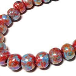 Enamel Ceramic Bead 12mm
