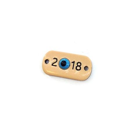 Plexi Acrylic Connector 2018 with Eye 19x10mm