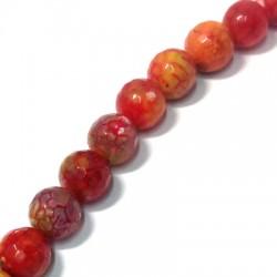 Perlina Sfaccettata di Agata 14mm