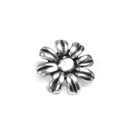 Μετ. Ζάμακ Χυτό Λουλούδι 26mm & Πυράκι για Βραχιόλι 42074411