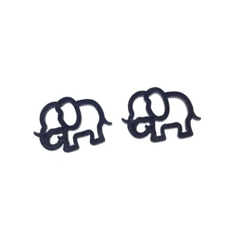 Plexi Acrylic Charm Elephant 20x13mm