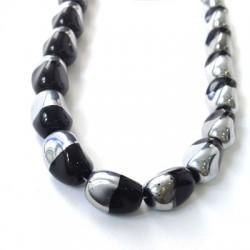Glass Bead Oval 10x13mm