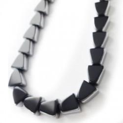 Glass Bead Triangular 10mm