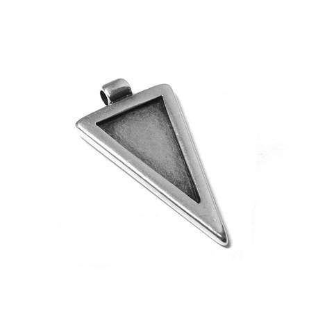 Metal Zamak Cast Geometric Part 33x21mm