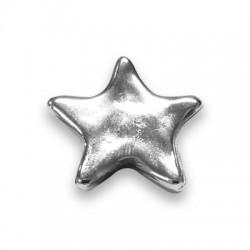Μετ. Ζάμακ Χυτό Αστέρι 28mm με Πυράκι για Βραχιόλι 42074411