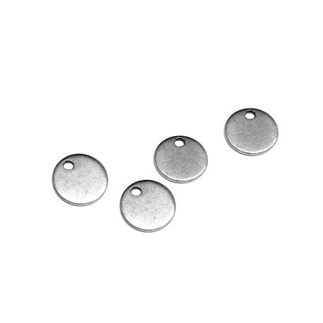 Médaille ronde en Métal/Laiton 8mm (Ø1,2mm)