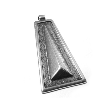 Metal Zamak Cast Geometric Part 55x31mm
