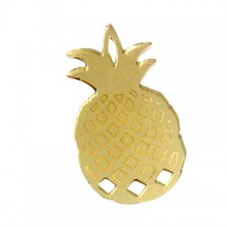Plexi Acrylic Pendant Pineapple 50x27mm