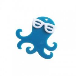 Plexi Acrylic Pendant Octapus 39x38mm
