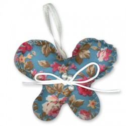 Fabric Butterfly 70x55mm