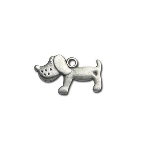Μεταλλικό Ζάμακ Χυτό Μοτίφ Σκύλος 23x15mm