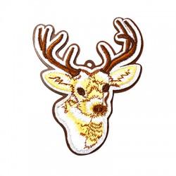 Wooden Lucky Pendant Deer 93x75mm