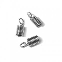 Metal Spring Coil with Loop (Ø 3mm)