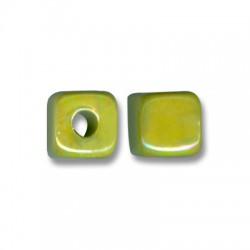 Enamel-Glazed One Color Ceramic Slider Cube 13mm