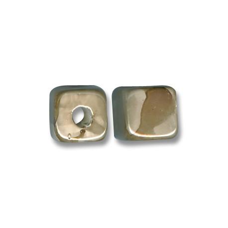 Passant Céramique Cube Émaillé 13mm