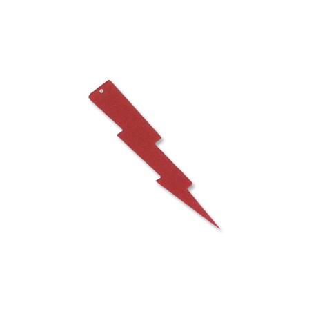 Πλέξι Ακρυλικό Μοτίφ Κεραυνός 55x12mm