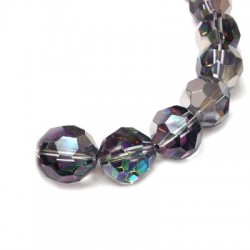 Glass Bead Faceted Round 16mm