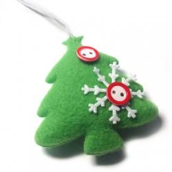 Felt Christmas Tree 59x65mm