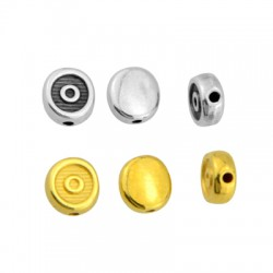Zamak Slider Round 8mm (Ø1.5mm) (Suitable also for Enameling)
