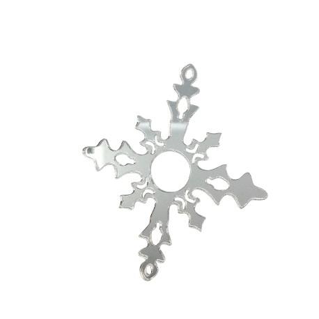 Πλέξι Ακρυλικό Μοτίφ Χιονονιφάδα 89x78mm