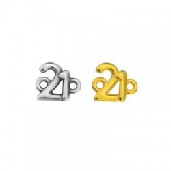 """Zamak Lucky Connector """"21"""" 11x10mm"""