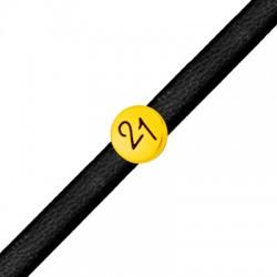 """Zamak Lucky Round Slider """"21"""" 9mm (Ø5x2mm)"""