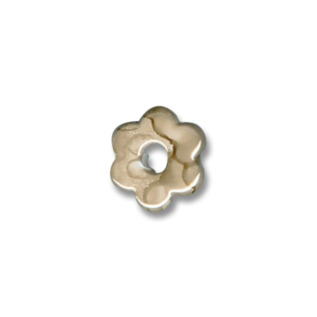 Enamel-Glazed Multi Color Ceramic Slider Flower 15mm (Ø 5mm)
