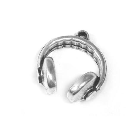 Μεταλλικό Ζάμακ Χυτό Μοτίφ Ακουστικά 22x21mm