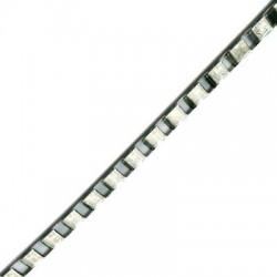 Μεταλλική Ατσάλινη Αλυσίδα Κύβος 6mm