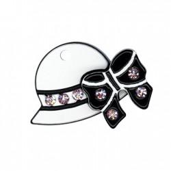 Πλέξι Ακρυλικό Μοτίφ Καπέλο 24mm