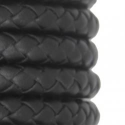 Συνθετικό Δερμάτινο Κορδόνι Στρογγυλό Πλεκτό 10mm