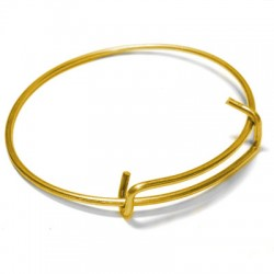 Brass Bracelet Wire 1,8mm