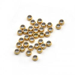 Stainless Steel 316 Crimp Bead 3mm (Ø2mm)
