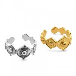 Brass Ring 20x10mm