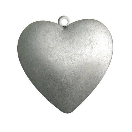 Μεταλλικό Ζάμακ Χυτό Μοτίφ Καρδιά 49x51mm