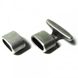 Zamak Clasp Hook 14x8mm (Ø 10.6x5mm)