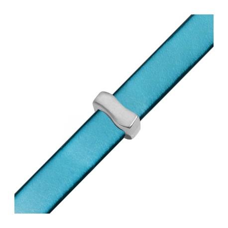 """Passant Puzzle """"S"""" en Métal/Zamac, 7x15mm (Ø 10.5x2.5mm)"""
