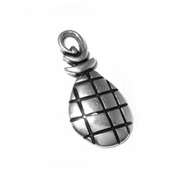 Zamak Pendant Pineapple 31x15mm