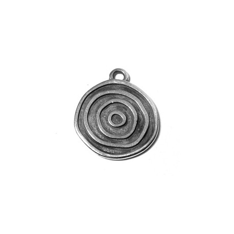 Zamak Pendant Round 20mm (Suitable also for Enameling)