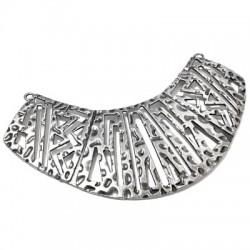 Zamak Connector Collar Necklace 105x35mm