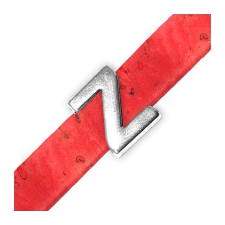 Passante in Zama Lettera 'Z' 15mm (Ø 10.5x2.4mm)