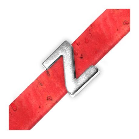 Zamak Slider Letter 'Z' 15mm (Ø 10.5x2.4mm)