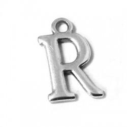 """Μεταλλικό Ζάμακ Χυτό Γράμμα Κρεμαστό """"R"""" 12mm"""