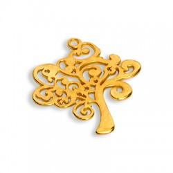 Μεταλλικό Ζάμακ Χυτό Μοτίφ Δέντρο Ζωής 38mm