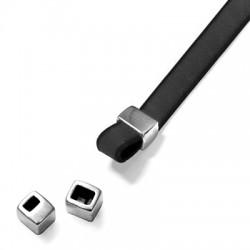 Μεταλλικό Ζάμακ Χυτό Περαστό 6x7mm (Ø3.2x2.2mm)(Ø3.2x4.2mm)