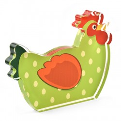 Plexi Acrylic Deco Chicken 104x79mm