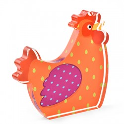 Plexi Acrylic Deco Chicken 96x90mm