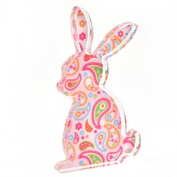 Plexi Acrylic Deco Bunny 69x120mm