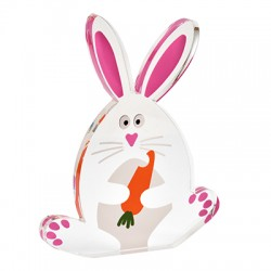 Plexi Acrylic Deco Bunny 92x120mm