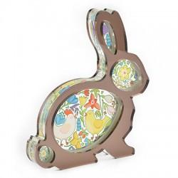 Plexi Acrylic Deco Bunny 112x120mm
